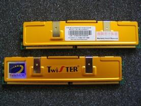 TwinMOS Twister PC3200 (CL2) 256 MB
