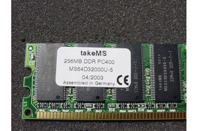 takeMS 256 MB DDR400 - 2
