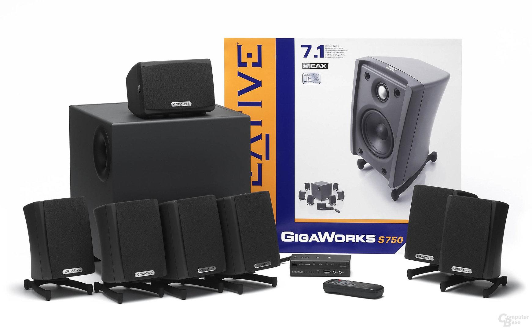Creative 7.1 Gigaworks S750 THX