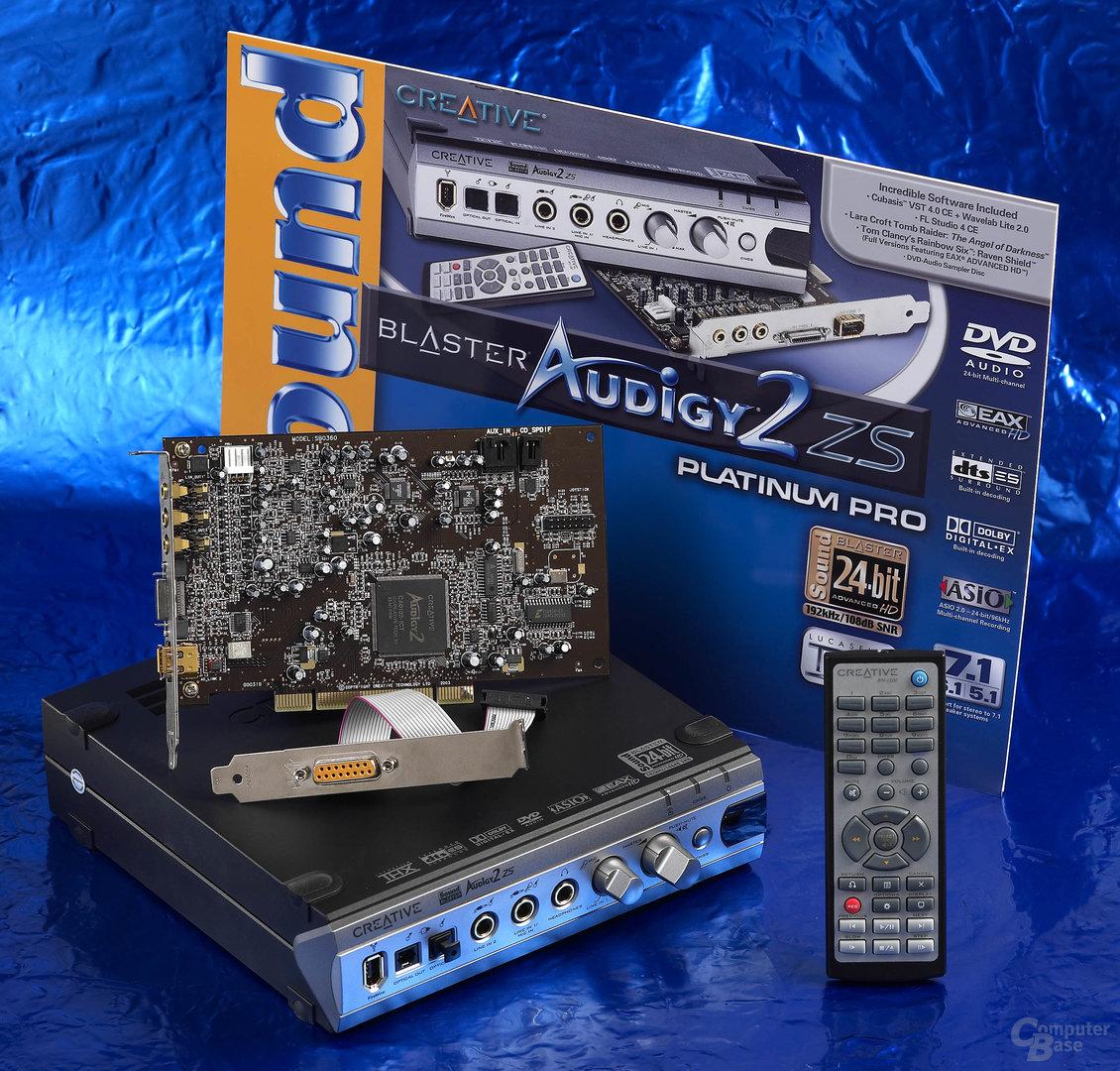 Audigy2 ZS Pro Platinum