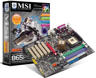 MSI 865PE Neo2-PFS PE