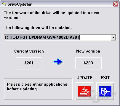 LG Firmwareupdate A201 -> A203
