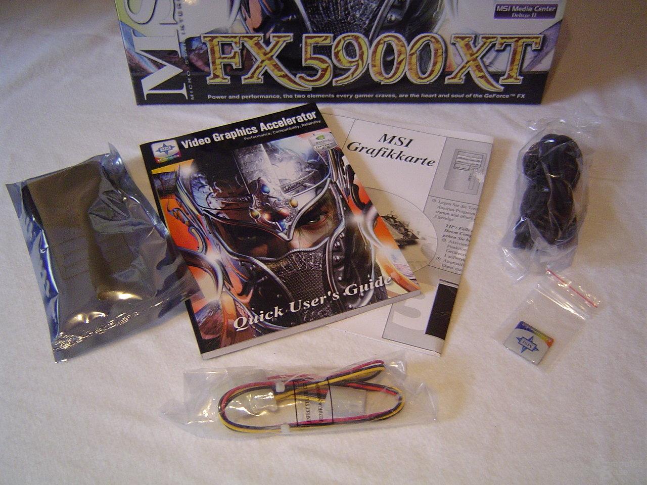 MSI GeForce FX 5900 XT