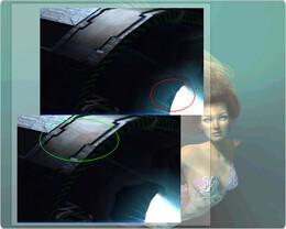 X²-Vergleich - Oben ATi, unten nVidia