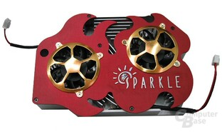 Sparkle NV40 Kühlerdesign