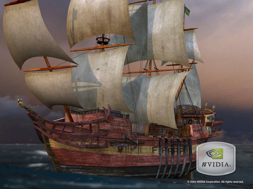 nVidia Clear Sailing Technologie-Demo