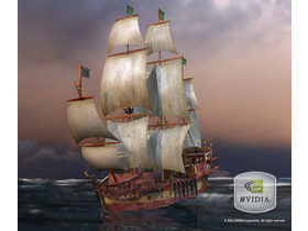 nVidia Clear Sailing Technologie-Demo