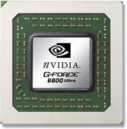 GeForce 6800 Ultra im Gehäuse