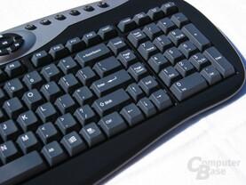 Tastatur schräg