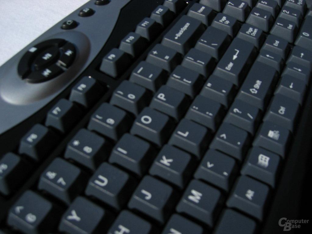 Tastatur Überflug