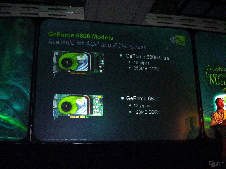 GeForce 6800 - mit 16 oder 12 Pipes
