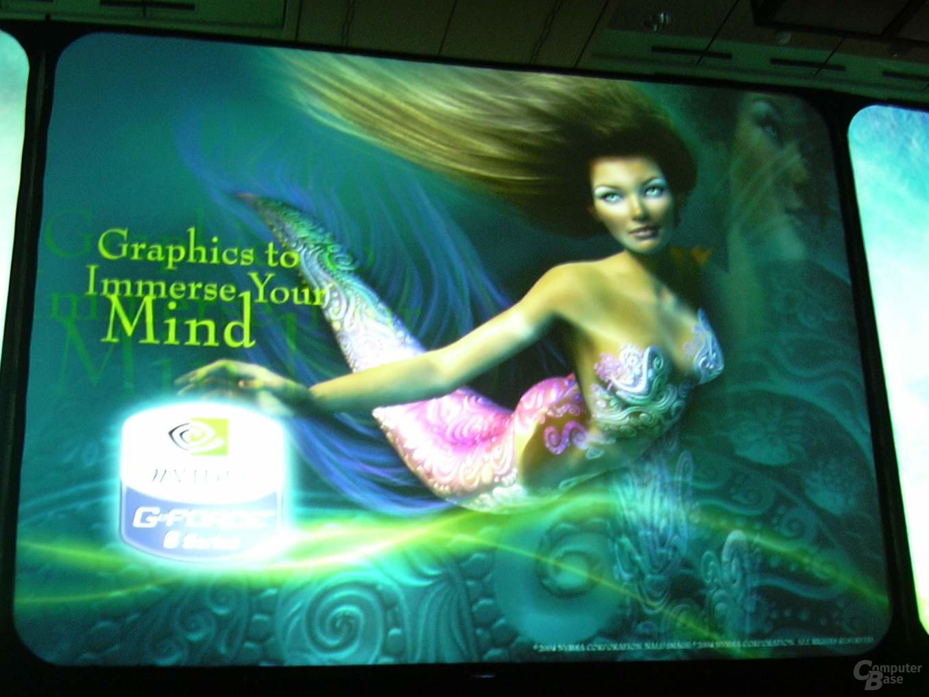 """Das Motto """"Graphics to immerse your Mind"""""""