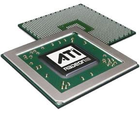 R420 Chip von oben und unten