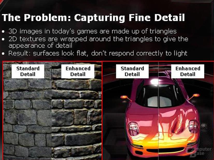 3Dc The Problem Capturing Fine Detail