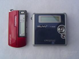 Grössenvergleich MuVo NX und MUVo²