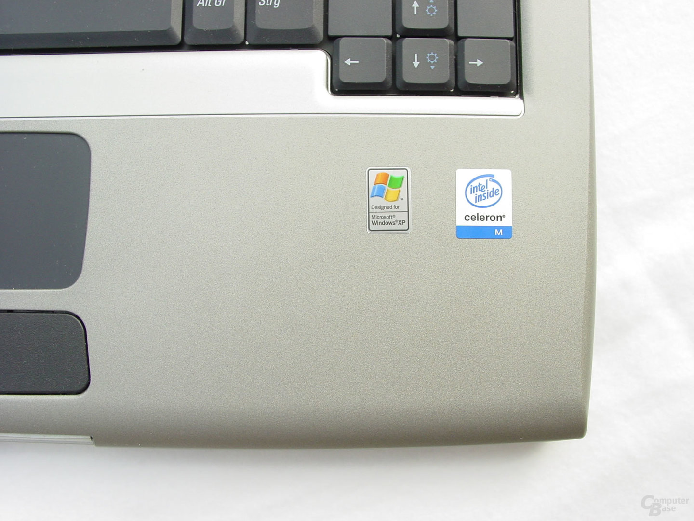 Dell Latitude D505 - Celeron M inside