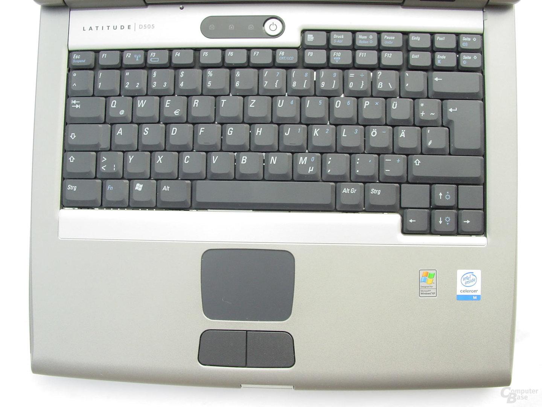 Dell Latitude D505 - Tastatur
