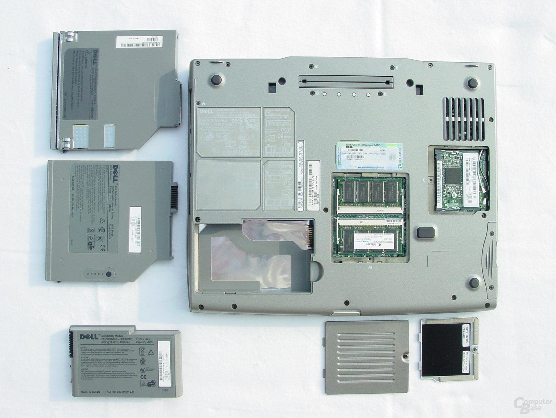 Dell Latitude D505 - Übersicht