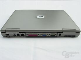 Dell Latitude D505 - hinten