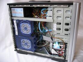 Casetek: System eingebaut