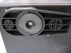 Casetek: Gehäusefuß