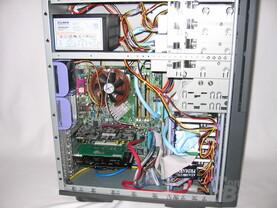 Chieftec: System eingebaut