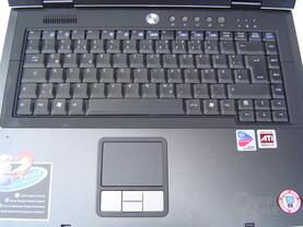 Asus M68Ne: Tastatur und Touchpad