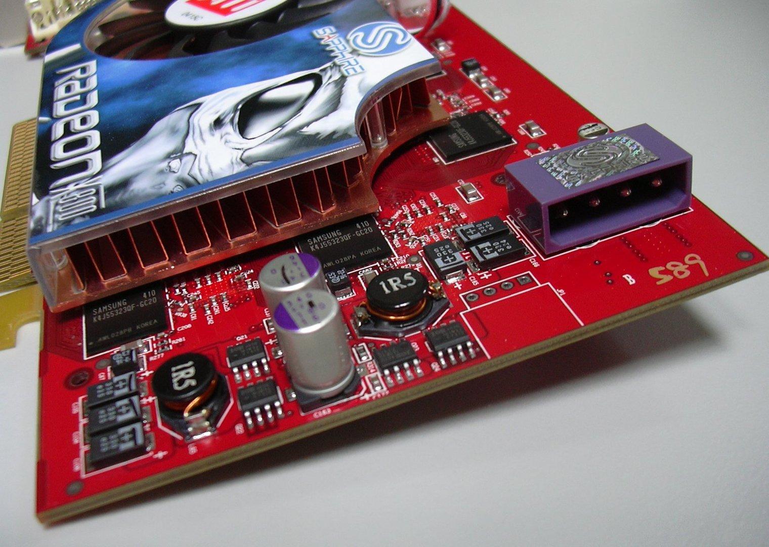 X800 Pro RAM & Kühler