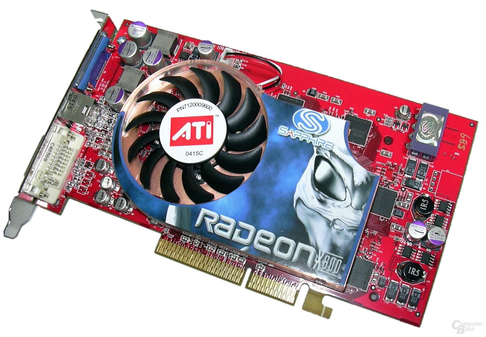 Sapphire Radeon X800 Pro
