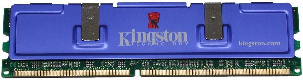 Kingston HyperX DDR500 in Großaufnahme