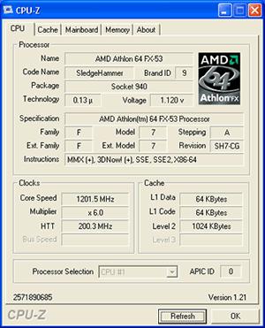 Kann er auch - Endlich CoolnQuiet für den Athlon 64 FX