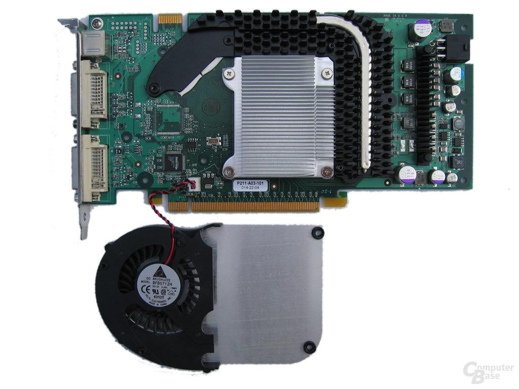 GeForce 6800 GT (PET) zerlegt
