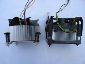 Neuer Referenzkühler und alter Boxed-Kühler