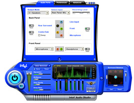 Intel Audio Studio_ports_view