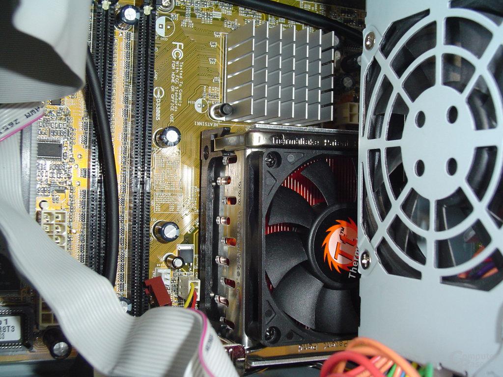 ASUS Innenleben - CPU Kühler