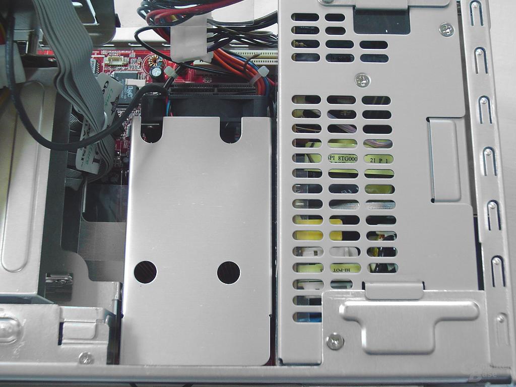 CPU Kühler eingebaut