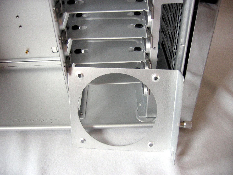 Schublade vorderer 120-mm-Gehäuselüfter