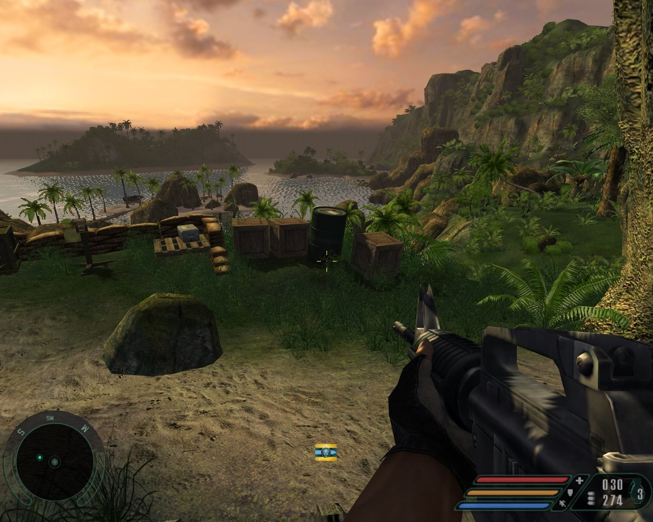 Far Cry 1.2 NV40 SM 2.0 1280x1024 4xAA/8xAF