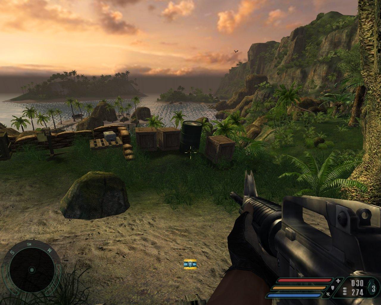 Far Cry 1.1 R360 SM 2.0 1280x1024 maxAA/maxAF