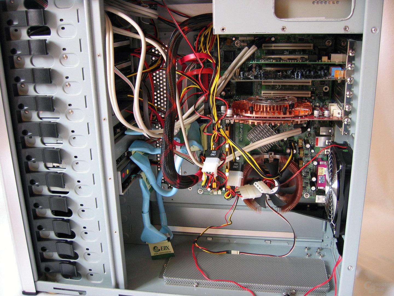 System eingebaut, BTX