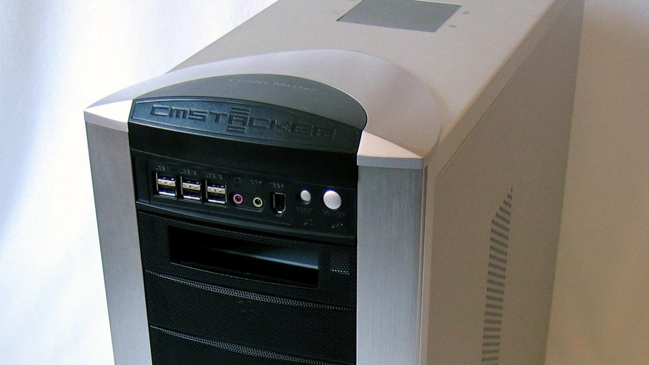 Coolermaster Stacker im Test: Hier findet jede Hardware ihren Platz