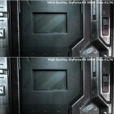 Qualitätsvergleich - High bis Ultra