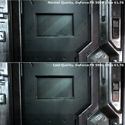 Qualitätsvergleich - Low bis Medium
