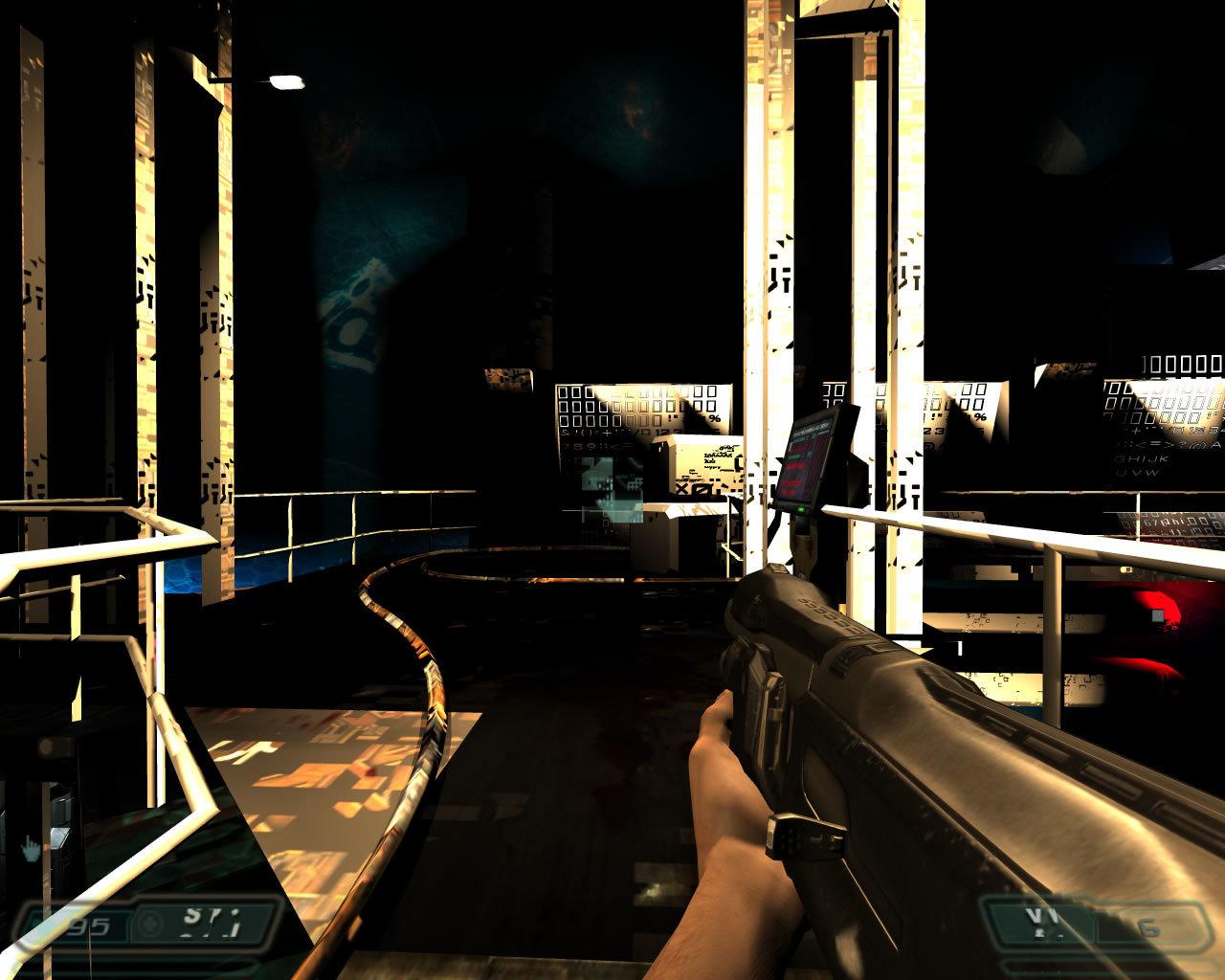 Doom 3 Ultra Quality w/ 16x AA noch mit Grafikfehlern