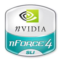 nForce 4 SLI Logo