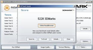 3DMark - PEG - Faster