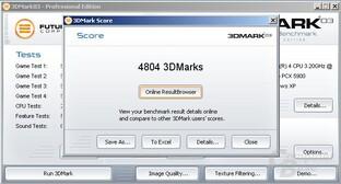 3DMark - PEG - Slow