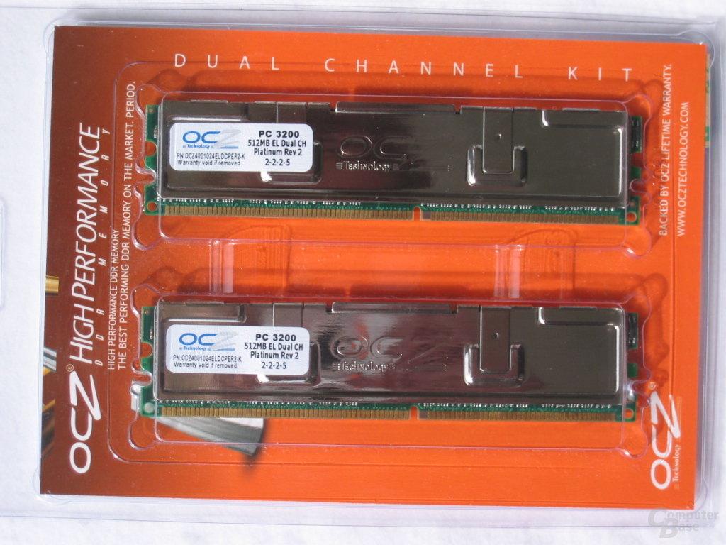 OCZ Verpackung