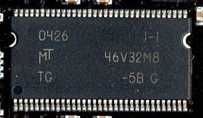 verbauter Micron-Speicherchip