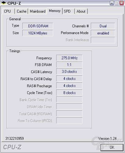 DDR400 @ DDR550